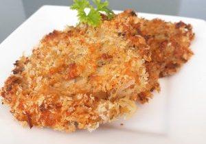 Salmon potato cutlet