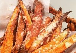 Sweet potato chips 1
