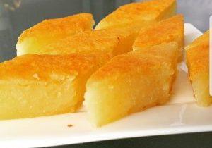 tapioca cake slices